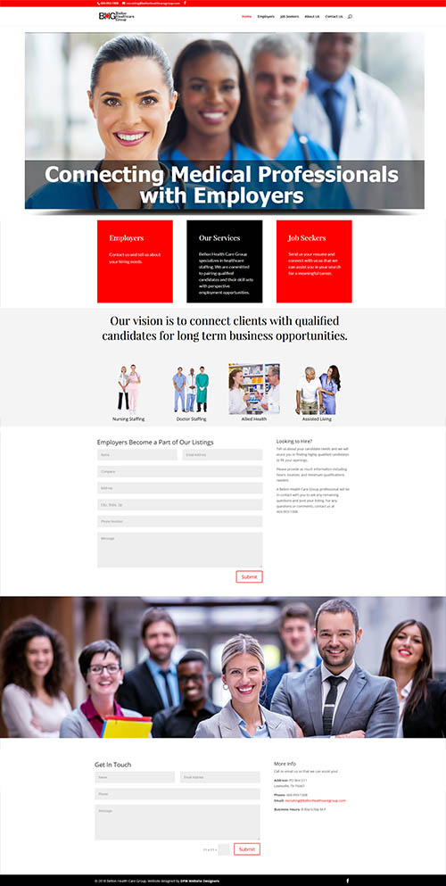 Click to View a 5-Page Website